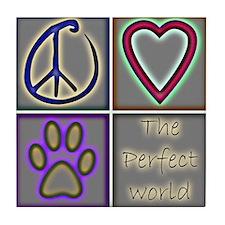 Perfect World: Dogs (ALT) - Tile Coaster