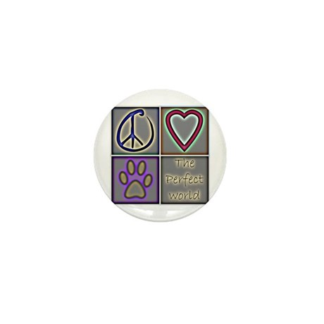 Perfect World: Dogs (ALT) - Mini Button (100 pack)