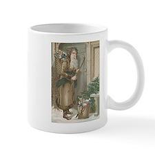 St. Nick with Baskets Mug