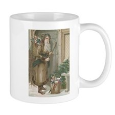 St. Nick with Baskets Mug