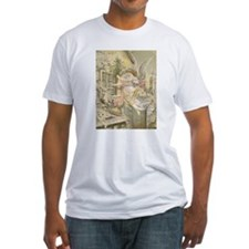Christmas Angel Fitted T-Shirt