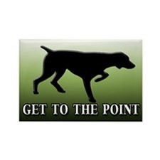GET TO THE POINT Rectangle Magnet (100 pack)
