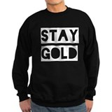 Stay Gold (White) Jumper Sweater