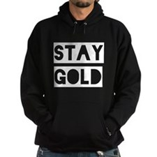 Stay Gold (White) Hoodie