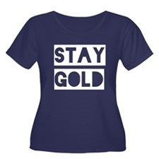 Stay Gold (White) T
