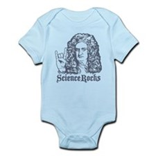 Isaac Newton Science Rocks Infant Bodysuit