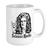 Isaac Newton Science Rocks Mug