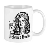 Isaac Newton Science Rocks Small Mug