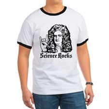 Isaac Newton Science Rocks T