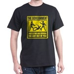 Government: Protect & Serve Dark T-Shirt