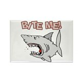BIte Me Shark Rectangle Magnet (10 pack)