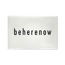 BeHereNow Rectangle Magnet (100 pack)