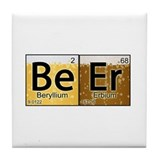 The Element of Beer Tile Coaster