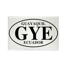 GYE Guayaquil Rectangle Magnet (100 pack)