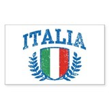 Italia Rectangle Decal