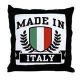 Made In Italy Throw Pillow