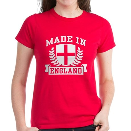 Made In England Women's Dark T-Shirt