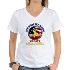 Cute Navy mom Shirt