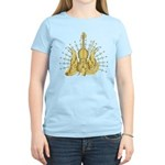 Golden Winged Violin Women's Light T-Shirt