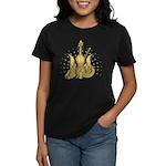Golden Winged Violin Women's Dark T-Shirt