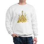 Golden Winged Violin Sweatshirt