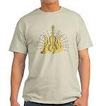 Golden Winged Violin Light T-Shirt