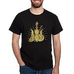 Golden Winged Violin Dark T-Shirt