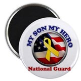 Funny National guard mom Magnet