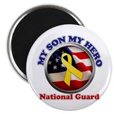 Cute National guard dad Magnet