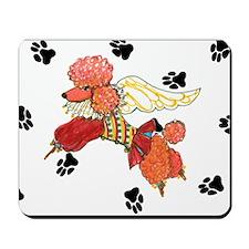 Gulliver's Angels Apricot Poodle Mousepad