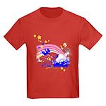 Scatter Joy Kids Dark T-Shirt
