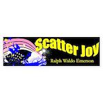 Scatter Joy Bumper Sticker