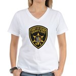 Steuben County Sheriff Women's V-Neck T-Shirt