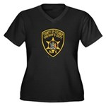 Steuben County Sheriff Women's Plus Size V-Neck Da