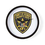 Steuben County Sheriff Wall Clock