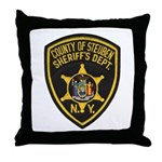 Steuben County Sheriff Throw Pillow