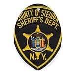 Steuben County Sheriff Oval Ornament