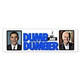 Dumb and Dumber Bumper Car Sticker