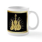 Golden Winged Violin Mug