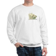Fake Money Pocket Sweatshirt