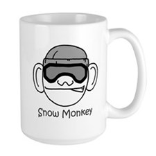 Large Snow Monkey Mug