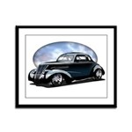 '39 Custom Street Rod Framed Panel Print