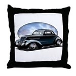 '39 Custom Street Rod Throw Pillow