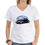 '39 Custom Street Rod Women's V-Neck T-Shirt