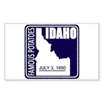 Idaho Rectangle Sticker
