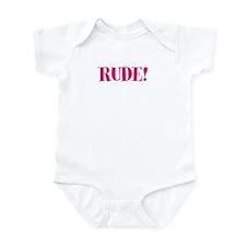 Rude Infant Bodysuit