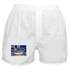 Wheatie bath moon smile Boxer Shorts