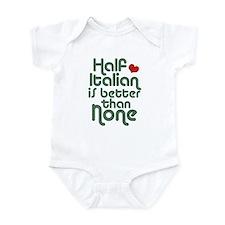 Half Italian Infant Bodysuit
