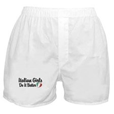 Italian Girls Do It Better Boxer Shorts