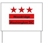 Woodridge - D.C . Flag Inspir Yard Sign